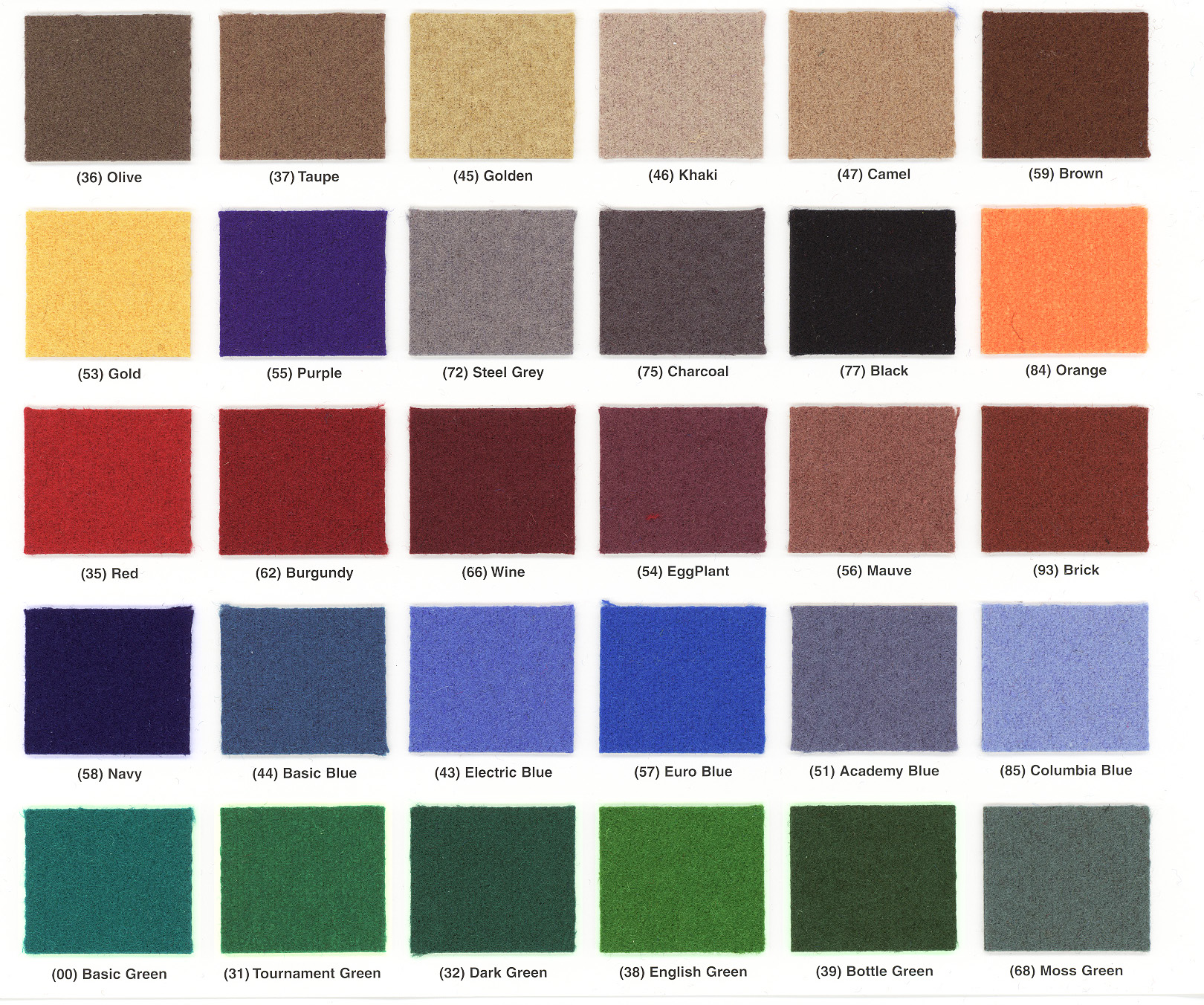 Image Gallery Khaki Color Chart
